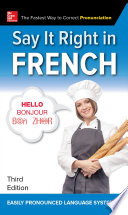Say It Right in French  Third Edition