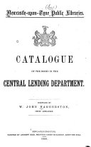 Catalogue of the Books in the Central Lending Department