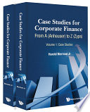 Case Studies for Corporate Finance