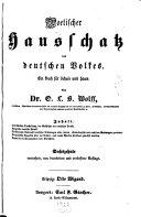 Poetischer Hausschatz des deutschen Volkes
