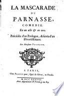 La mascarade du Parnasse,