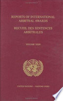 Reports of International Arbitral Awards