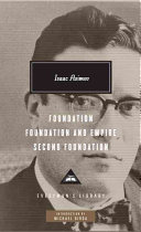 Foundation, Foundation and Empire, Second Foundation-book cover