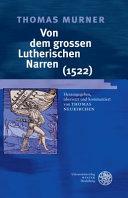 Von Dem Grossen Lutherischen Narren  1522