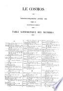 Cosmos  Paris  1885