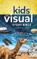 NIV Kids' Visual Study Bible, Hardcover, Full Color Interior Book Cover