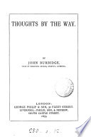 Thoughts By The Way book