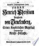 Johann Daniels von Olenschlager Erläuterte Staats-Geschichte des Römischen Kayserthums in der Ersten Helfte des Vierzehenden Jahr-Hunderts