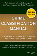 download ebook crime classification manual pdf epub