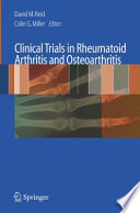 Clinical Trials In Rheumatoid Arthritis And Osteoarthritis
