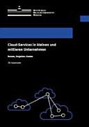 Cloud-Services in kleinen und mittleren Unternehmen
