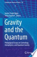 Gravity and the Quantum