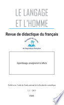Apprentissage  enseignement et affects