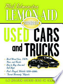 Lemon-Aid Used Cars and Trucks 2009-2010