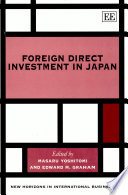 Foreign Direct Investment In Japan