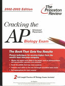 Cracking the Advanced Placement Biology Exam