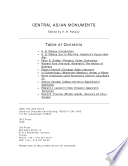 Central Asian Monuments