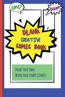 Blank Creative Comic Book