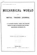 The Mechanical World