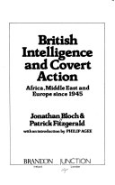 British Intelligence and Covert Action Book PDF
