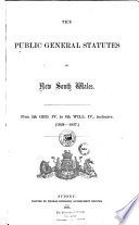 The Public General Statutes ... From 5th Geo. IV to 8th Will. IV., Inclusive. (1824-1837)
