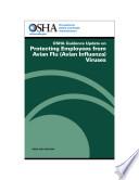 OSHA Guidance on Protecting Employees from Avian Flu  Avian Influenza  Viruses