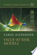 Market Risk Analysis  Value at Risk Models