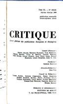 Critique n°394 -  littératures populaires