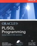 Oracle9i PL/SQL Programming