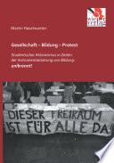 Gesellschaft – Bildung – Protest