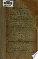 Dictionnaire complet de la langue fran  aise