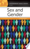 Sex and Gender  A Reference Handbook
