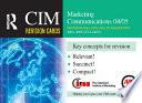 CIM Revision Cards  Marketing Communications 04 05