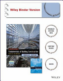Fundamentals of Building Construction  Sixth Edition Binder Ready Version  Construction Exercises 6E Brv  with Interactive Resource Center Set