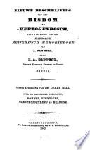 Nieuwe beschrijving van het bisdom van 's Hertogenbosch