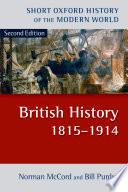 British History 1815 1914