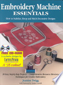 Embroidery Machine Essentials