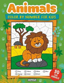 Animals Color by Number for Kids