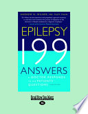 Epilepsy 199 Answers 3rd Edition Large Print 16pt