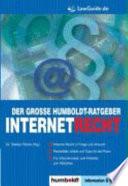 Der große Humboldt-Ratgeber Internet-Recht
