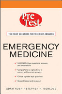 Emergency Medicine PreTest Self Assessment and Review