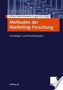 Methoden der Marketing Forschung