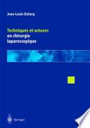 illustration Techniques Et Astuces En Chirurgie Laparoscopique