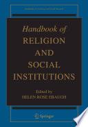 illustration du livre Handbook of Religion and Social Institutions