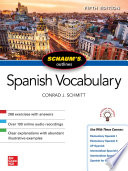 Schaum S Outline Of Spanish Vocabulary Fifth Edition