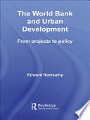 World Bank and Urban Development