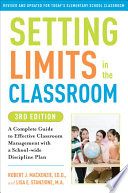 Setting Limits in the Classroom  3rd Edition