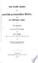 Das heroische Zeitalter der nordisch germanischen V  lker  und die Wikinger Z  ge