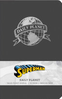 Superman  Daily Planet Ruled Pocket Journal