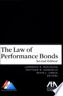 The Law of Performance Bonds
